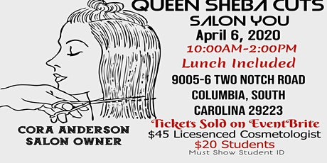 Queen Sheba Cuts tickets
