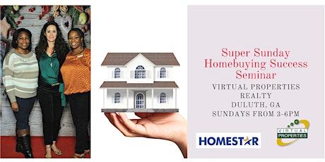 Super Sunday Homebuyers Success Seminar tickets