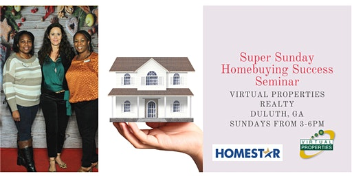 Super Sunday Homebuyers Success Seminar