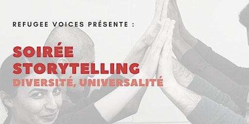 """Soirée Storytelling """"Diversité, Universalité"""""""