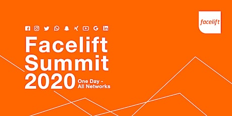Facelift Summit 2020 - One Day, All Networks tickets