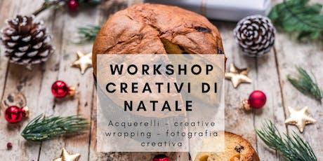 Workshop creativo di Natale biglietti