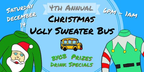 4th Annual Ugly Sweater Party Bus tickets