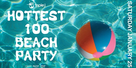 Triple J Hottest 100 Beach Party 2020 tickets