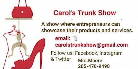 Carol's Trunk Show 4th Vendor Show tickets
