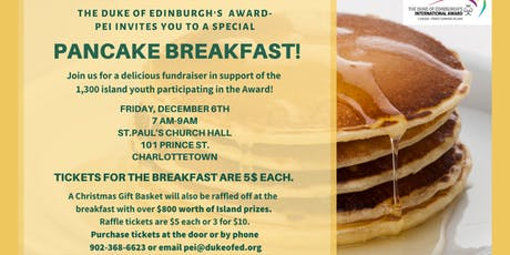 Duke of Edinburgh Award's Pancake  Breakfast tickets