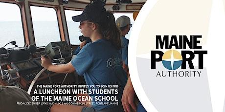 Maine Ocean School Luncheon tickets