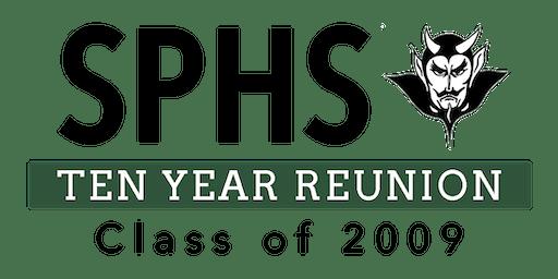 SPHS C/O 2009 10 YEAR REUNION