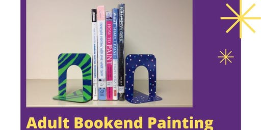 Adult Bookend Painting