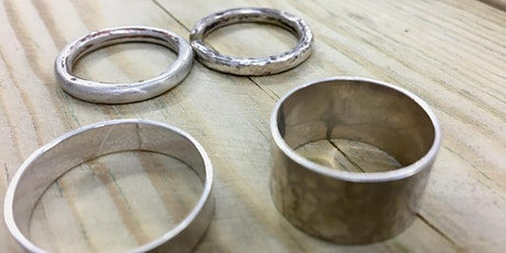 Silver Band Ring Workshop tickets