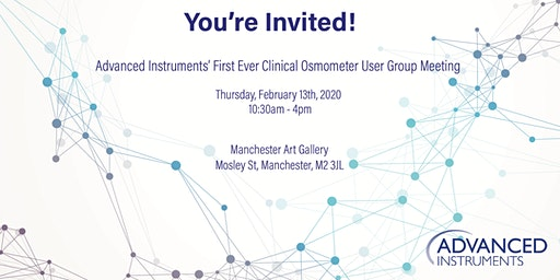 Clinical Osmometer User Group Meeting