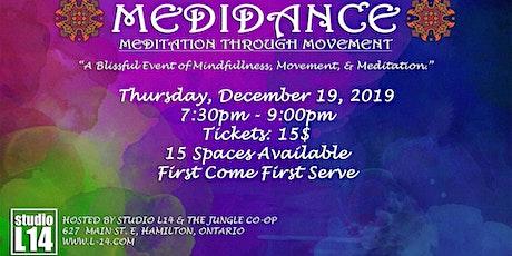 Medidance - Meditation Through Movement at Studio  tickets
