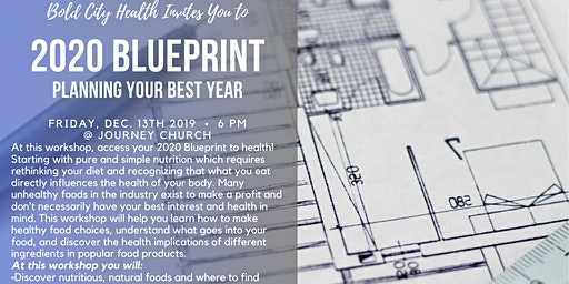 RECIPE NIGHT // 2020 BLUEPRINT:Planning Your Best Year