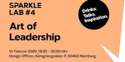 SPARKLE LAB #4: Art of Leadership  Drinks. Talks. Inspiration.