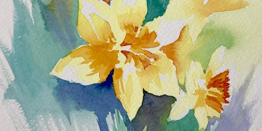 Watercolour workshop – Spring theme with Frances Douglas