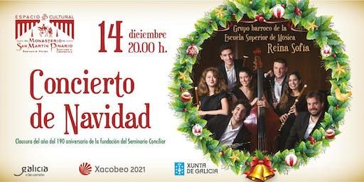 Grupo Barroco de la Escuela de Música Reina Sofía.