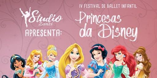 4 Festival de Ballet Inafantil Princesa da Disney