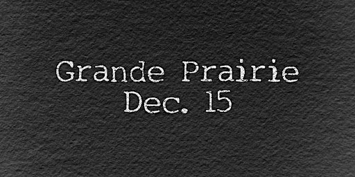 WEXIT RALLY: Grande Prairie, AB [Dec. 15]