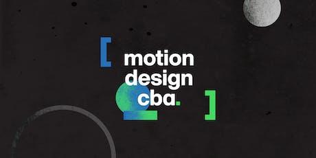 Motion Design Cba - first event! entradas
