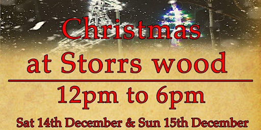 Christmas at Storrs Wood (Stoneface Creative)