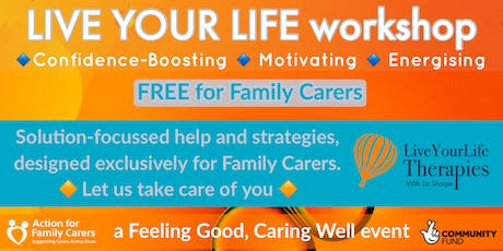MALDON - LIVE YOUR LIFE workshop tickets