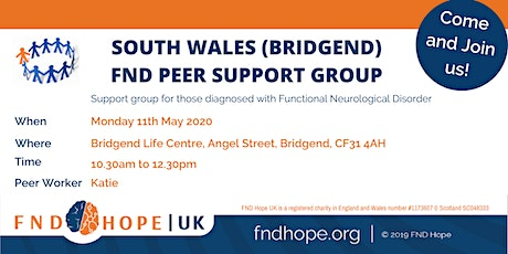 South Wales (Bridgend) FND Peer Support Group tickets