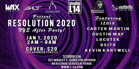 Resolution 2020 at Studio L14 tickets