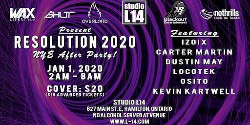 Resolution 2020 at Studio L14