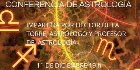 CONFERENCIA DE ASTROLOGIA entradas