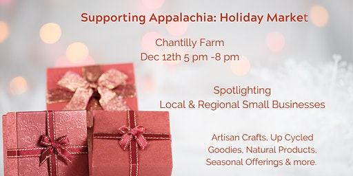 Supporting Appalachia Holiday Market