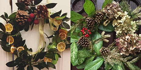 Make your own Festive Wreath tickets
