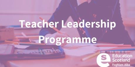 Teacher Leadership - Tayside Collaborative  - Recall Day tickets