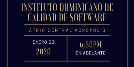 Lanzamiento Instituto Dominicano de Calidad de Software IDCAS entradas