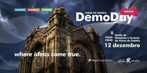 DemoDay Tourism Creative Factory - Winter Edition 2019