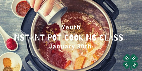 Youth Instant Pot Cooking tickets