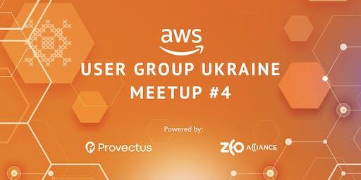 AWS User Group Ukraine Meetup #4