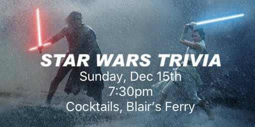 Star Wars Trivia at Cocktails