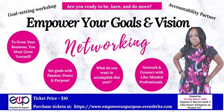 Empower Your Goal & Vision Board Networking Event - 2020 tickets