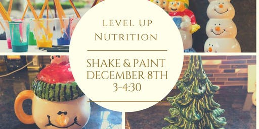 Holiday Shake & Paint Party