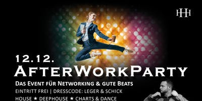 AfterWorkParty am 12.12.2019 mit DJ Legion