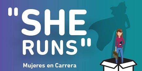 """OBRA DE TEATRO - """"SHE RUNS, Mujeres en Carrera"""" entradas"""