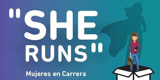 "OBRA DE TEATRO - ""SHE RUNS, Mujeres en Carrera"""