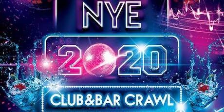 NYE Pub & Club Crawl tickets