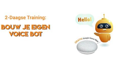 2-Daagse Training: Bouw je eigen Voice Bot tickets