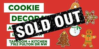 SOLD OUT - Cookie Decorating Class at Royal Docks