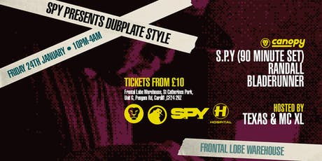 Canopy Presents: S.P.Y Dubplate Style tickets