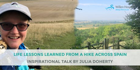 LIFE LESSONS LEARNED FROM A HIKE ACROSS SPAIN... tickets