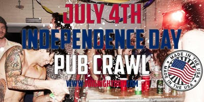 London's Biggest Independence Day Pub Crawl - 4th JULY 2020