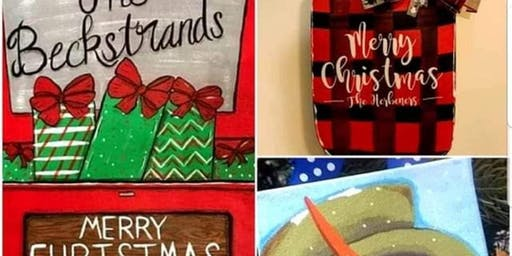 Christmas Paint and Sip Party- Dec 16th, 4:30-7:30
