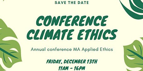 Conference Climate Ethics tickets